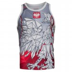 Tank top rashguard Extreme Hobby POLSKA grey-red