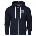 Hooded zip Extreme Hobby Lech Poznań Basic navy
