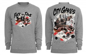 Crewneck Fuck The Fame City Games