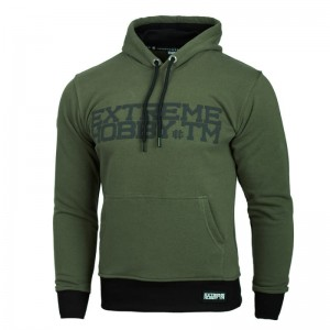 Hooded Extreme Hobby Block khaki