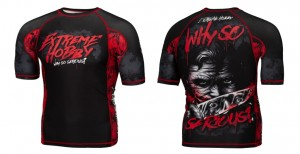 Short rashguard Exreme Hobby Why so serious