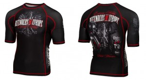 Short rashguard Extreme Hobby Defenders of Europe